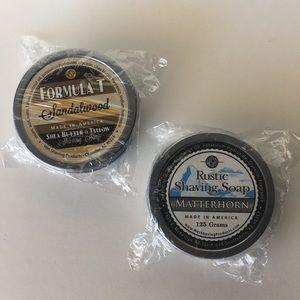 WSP Shaving Soap SANDALWOOD & MATTERHORN